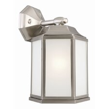 Barcelona 1 Light Outdoor Downlight Wall Lantern