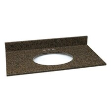 Granite Single Bowl Vanity Top