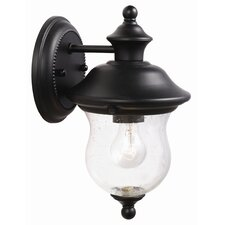 <strong>Design House</strong> Highland 1 Light Outdoor Downlight Wall Lantern
