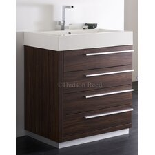 Walnut Sequence Basin and Cabinet