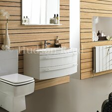 Vanguard Basin and Cabinet in White