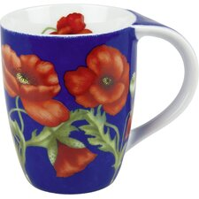 11 oz. Poppy Blossom Mug (Set of 4)