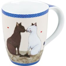 11 oz. Cat Couple Mug (Set of 4)