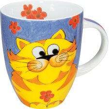 12 oz. Cuddle Cat Mug (Set of 4)