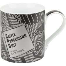 12 oz. High Tech Coffee Processing Unit Mug (Set of 4)