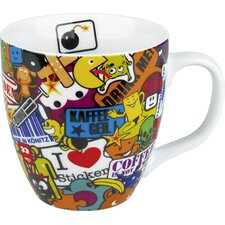 14 oz. Sticker Bombing Mug (Set of 4)