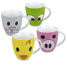 Zoo Mug (Set of 4)