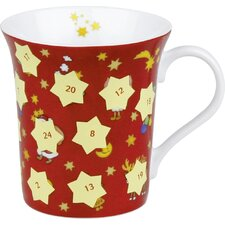 Holiday Advent Scatch Off Mug (Set of 2)