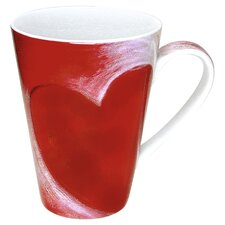 <strong>Konitz</strong> Gift for All Occassions Big Heart Mug (Set of 4)