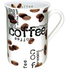 Coffee Shop Coffee Collage Mug (Set of 4)