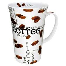 Coffee Shop Collage Mega Mug (Set of 2)