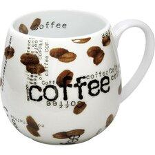 Coffee Shop Snuggle Coffee Collage Mug (Set of 2)
