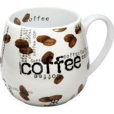 <strong>Konitz</strong> Coffee Shop Snuggle Coffee Collage Mug Set of 4
