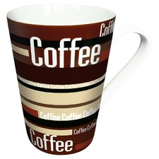 Coffee Shop Coffee Stripes (Set of 2)