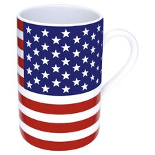 Stars and Stripes Flag Mug (Set of 4)