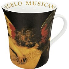 Art L'Angelo Musicante Di Rosso Mug (Set of 4)