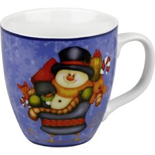 Holiday Little Santa Frosty Mug (Set of 4)