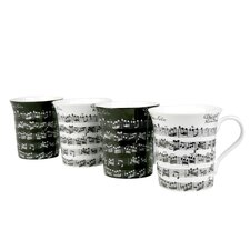 <strong>Konitz</strong> Assorted Vivaldi Libretto 12 oz. Mug (Set of 4)