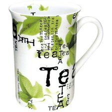 Tea Collage Mug (Set of 4)
