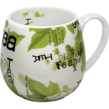 Tea Collage Snuggle Mug (Set of 4)