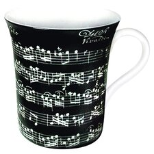 Art Vivaldi Libretto Mug (Set of 4)