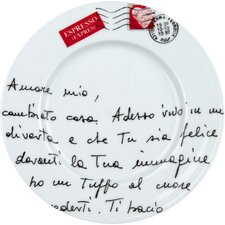 "Coffee Bar 8"" Amore Mio Plate (Set of 4)"