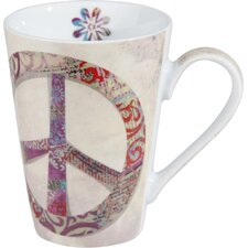 Peace 13 oz. Mug (Set of 2)