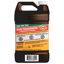 1 Gal Green Brown Wood Preservative