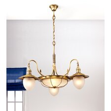 Nautic Leme Two Light Chandelier