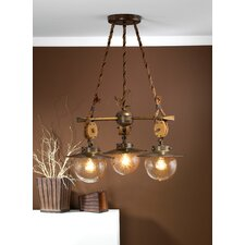 Nautic Cadernal Three Light Chandelier