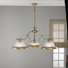 Rustik Three Light Chandelier