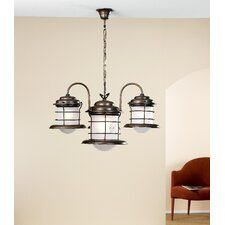 <strong>Lustrarte Lighting</strong> Nautic Caravela Four Light Chandelier