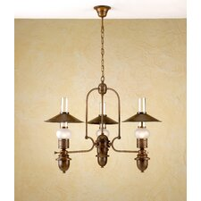 <strong>Lustrarte Lighting</strong> Rustik Velha Three Light Chandelier