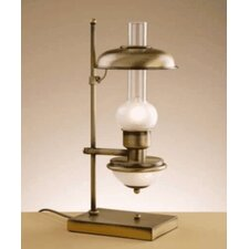 "Rustik Farwest 19.75"" H Table Lamp with Bowl Shade"
