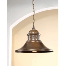 <strong>Lustrarte Lighting</strong> Rustik American Coop 1 Light Foyer Pendant
