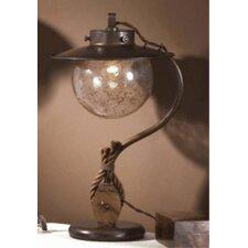 """Nautic Cadernal 18.9"""" H Table Lamp with Bowl Shade"""