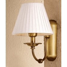 <strong>Lustrarte Lighting</strong> Classic Obidos 1 Light Wall Sconce