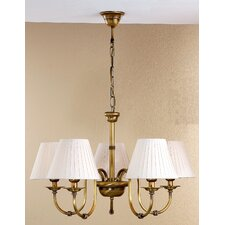 <strong>Lustrarte Lighting</strong> Classic Obidos Five Light Chandelier