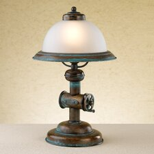 "Rustik Coffee 15.75"" H Table Lamp with Bowl Shade"