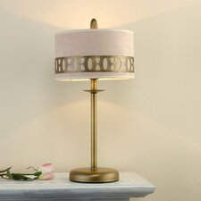 "Modern Oval 57.09"" H Table Lamp with Drum Shade"