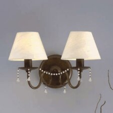 Classic Missangas 2 Light Wall Sconce