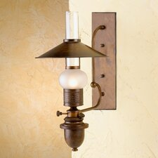 Rustik Velha 1 Light Wall Sconce