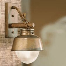 Nautic Amarras 1 Light Wall Sconce