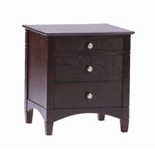 Essex 3 Drawer Nightstand