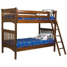 <strong>Bolton Furniture</strong> Mission Twin over Twin Bunk Bed