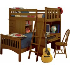 <strong>Bolton Furniture</strong> Mission Sleep/Study/Storage Loft Bed