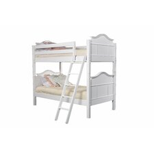 <strong>Bolton Furniture</strong> Emma Twin over Twin Bunk Bed with Built-In Ladder