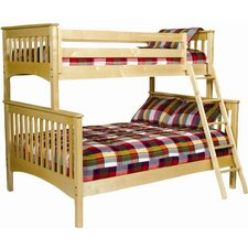 <strong>Bolton Furniture</strong> Mission Twin over Full Bunk Bed