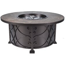 Casual Fireside Viento Chat Height Fire Pit