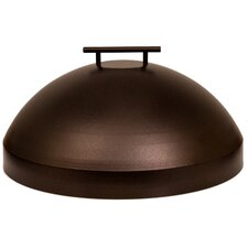 """Casual Fireside Metal Cover for 20"""" Round Burner"""